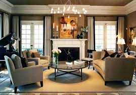 fashionable modern traditional living room decorating ideas beige fabric arms sofa sets white surround fireplace mantel