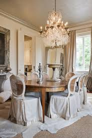 Living Room:French Country Dining Room With Shabby Chic Furniture Also  Ruffle Tablecloth Inspirational Shabby