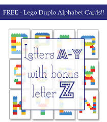 alphabet picture cards lego duplo alphabet cards one beautiful home