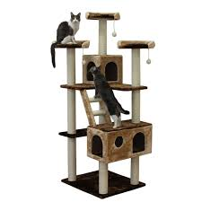 Kitty Mansions Beverly Hills 73 in Cat Tree
