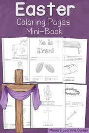 Small Picture FREE Resurrection Coloring Pages Mini book Free Homeschool Deals