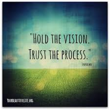 Quotes About Vision Gorgeous Hold The Vision Trust The Process Inspirational Quotes Quotes