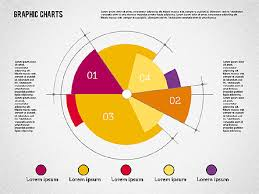 Pie Chart Design Pie Chart Collection In Flat Design Presentation Template