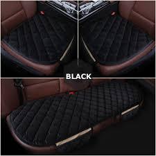 <b>KKYSYELVA</b> Cover Universal <b>Auto</b> Front Back Seat Cushion Covers ...