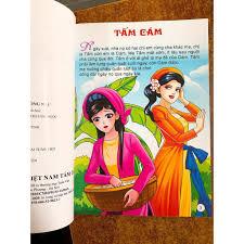 Sách - Truyện tranh cổ tích Việt Nam Tấm Cám chính hãng 50,000đ
