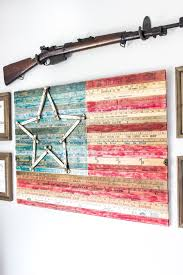 Small Picture American Flag Decor Ideas The Weathered Fox