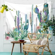 tapestry sale tropical plant tapestry cactus moon printed wall decor hanging carpet bohemian decoration table cloth beach towel cover fine tapestries fine  on cactus wall art nz with tapestry sale tropical plant tapestry cactus moon printed wall decor