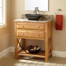 Bamboo Bathroom Sink 30 Narrow Depth Clinton Bamboo Vessel Sink Vanity Bathroom