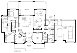 Small Picture Floor Plans With Basement Rustic Mountain House Floor Plan With
