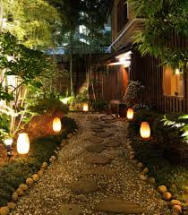 illuminating your path using landscape lighting to define outdoor spaces