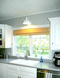 pendant light over sink island kitchen lighting within above prepare pertaining to inspirations height of bathroom
