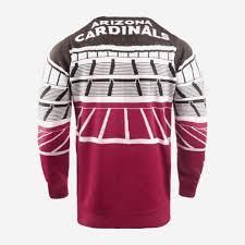 Arizona Cardinals Light Up Sweater Arizona Cardinals Light Up Bluetooth Sweater Foco Com