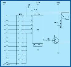 electronic combination lock using ic ls 7220 todays circuits parts list