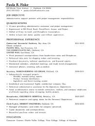 Sample Resume Management Position Simple Sample Resumes For Administrative Positions48 Sample Of Resume For