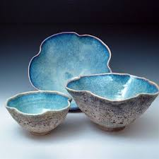 Turquoise Decorative Bowl Coffee Table Decorative Bowls Sea Shell Ceramic Bowls By 77
