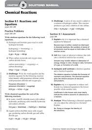 adorable chemistry word equations worksheet answers tessshlo classifying chemical reactions page 9 p classifying chemical reactions