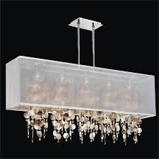 mother of pearl chandelier light omni 627pm44sp w 7