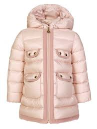 Moncler Junior Pale Pink Maevant Padded Jacket