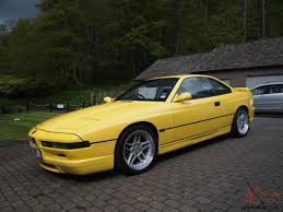 Coupe Series bmw 840 for sale : 1997 BMW CI AUTO YELLOW