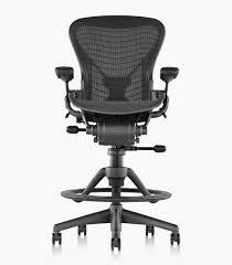 herman miller classic aeron work stool