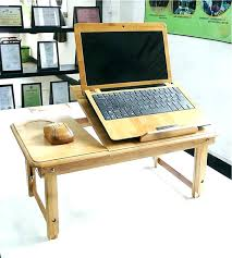 bed laptop table computer desk for stand tray wooden india