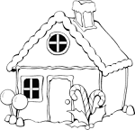 Раскраски для детей онлайн домики