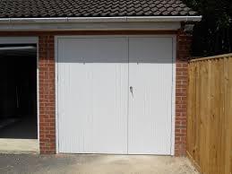 white side hinged door