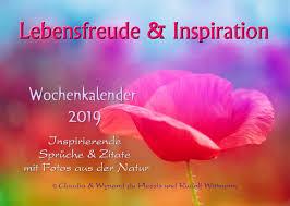 Lebensfreude Inspiration Tischkalender 2019 Inspirierender