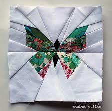 butterfly quilt block | WOMBAT QUILTS & butterfly block 2 Adamdwight.com