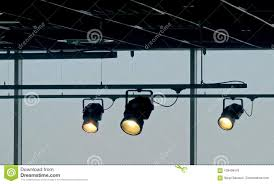 studio track lighting. Tracking Spotlights Shines On The Ceiling Rail System Stock Photo - Image Of Lamp, System: 108406476 Studio Track Lighting I