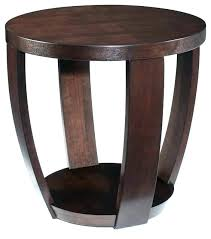 small round wood end table round end table with storage small round wooden side table wood