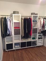 Kleiderschrank Ikea Kallax Stangen Und Die Füße über Ebay Haus In