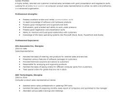 Excellent Computer Skills Resume Good For To Put On List Of A Best