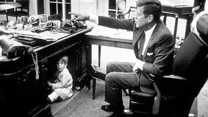 the oval office desk. and of course the young children former presidents famously have been pictured playing beneath oval office desk o
