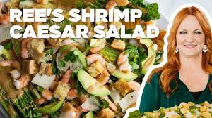 Preheat the broiler to high. The Pioneer Woman Makes A Shrimp Caesar Salad The Pioneer Woman Food Network Youtube