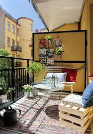 Summer Balcony With Private Areas