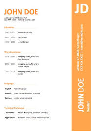 Free Cv Resume Templates Download Creative Resume Templates Free