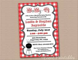 barbecue invitation template free bbq baby shower invitations templates college roomies com