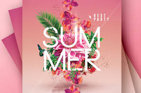 Summer Party Flyers Summer Party 4 Flyers Psd Templates By Romecreation On Deviantart
