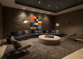 home gym lighting. Home Theater Floor Lighting. Rug Sofa Lighting Art Magnificent Modern On Sunset Strip Regarding Gym