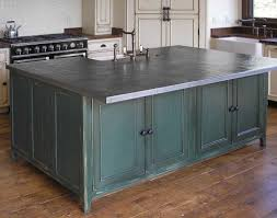 zinc countertop photo courtesy of handcrafted metal