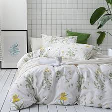 100 cotton comforters with cotton filling. Contemporary Comforters Wake In Cloud  3pcs Botanical Comforter Set Queen 100 Cotton Fabric With  Soft With 100 Comforters Filling T