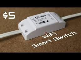 Sonoff - The $5 <b>WiFi Smart</b> Switch That's Compatible With Alexa And ...
