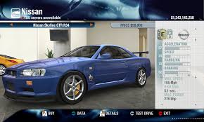 Released - 2000 Nissan Skyline GT-R R34 V-SPEC physics + ...