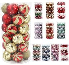 Valery Madelyn <b>30pcs</b> Christmas Baubles O- Buy Online in ...