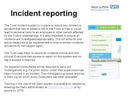 How To Write Incident Reports