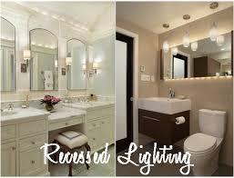 perfect model of bathroom recessed lighting design by style and img h0n bathroom recessed lighting