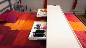 bedchill connected overbed rolling table 2