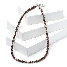 Купить <b>Бусы перламутр коричневый</b> Индонезия <b>5</b> мм 46 см (+7 ...