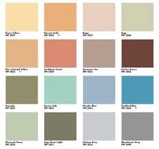 2019 Suburban Color Chart Great Color Scheme Via Mad For Mid Century Suburban Mid